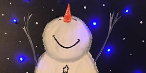 MARTIN'S WINE & PAINT PARTY - LIGHT UP SNOWMAN