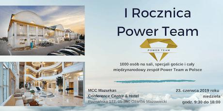 I Rocznica Power Team tickets