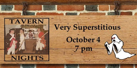 Tavern Nights: Very Superstitious  tickets