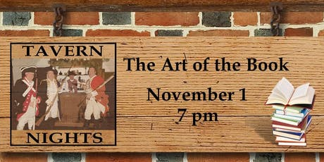 Tavern Nights: The Art of the Book tickets