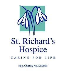 St Richard's Hospice Living Well  logo
