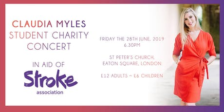 Claudia Myles Student Charity Concert 2019 tickets