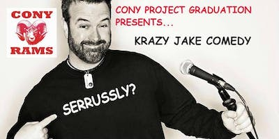 KRAZY Jake Comedy for Cony Project Graduation 2019