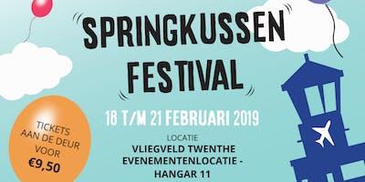 Springkussenfestival voorjaarsvakantie 2019