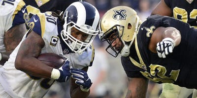 Saints vs Rams NFC Conference Championship New Orleans Watch Party