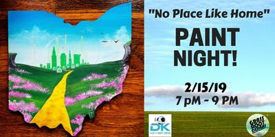 No Place Like Home| Paint Night in Middleburg Hts