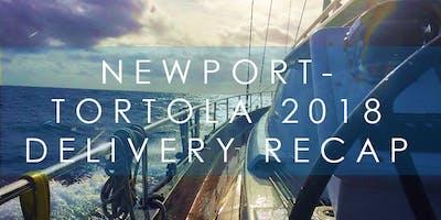 ONE15 Brooklyn Sail Club: Winter Wednesday Newport - Tortola Delivery Recap