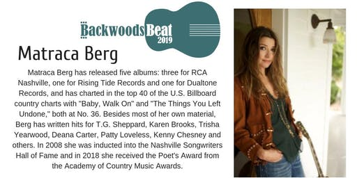 Matraca Berg - Backwoods Beat Festival