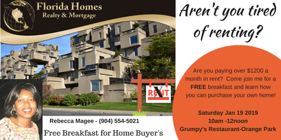 HOME-BUYER BREAKFAST EDUCATION WITH REBECCA MAGEE