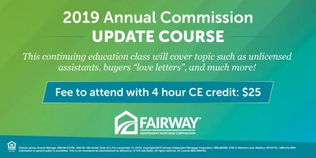 2019 Annual Update Course-4 Hour CE tickets