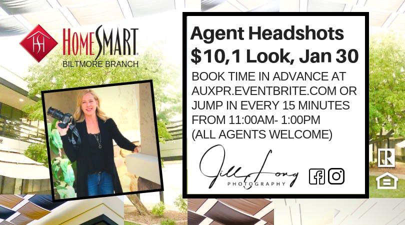 $10 Agent Headshots by Professional Photographer Jill Long