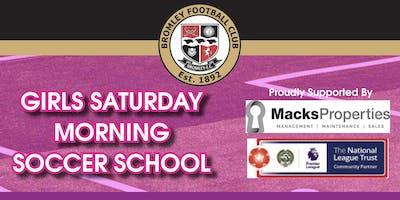 Girls Saturday Morning Soccer School - 19th Januar