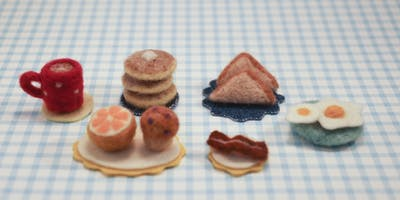 Needle Felted Mini Breakfast!