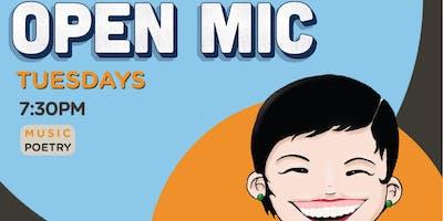 Tuesdays Open Mic