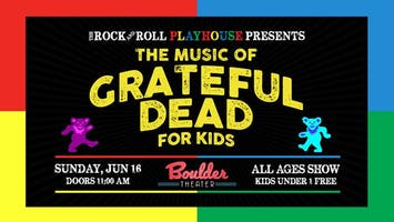 SOLD OUT: FATHER'S DAY CELEBRATION FT. THE MUSIC OF GRATEFUL DEAD FOR KIDS (AM SHOW)