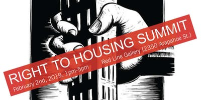 Right to Housing Summit