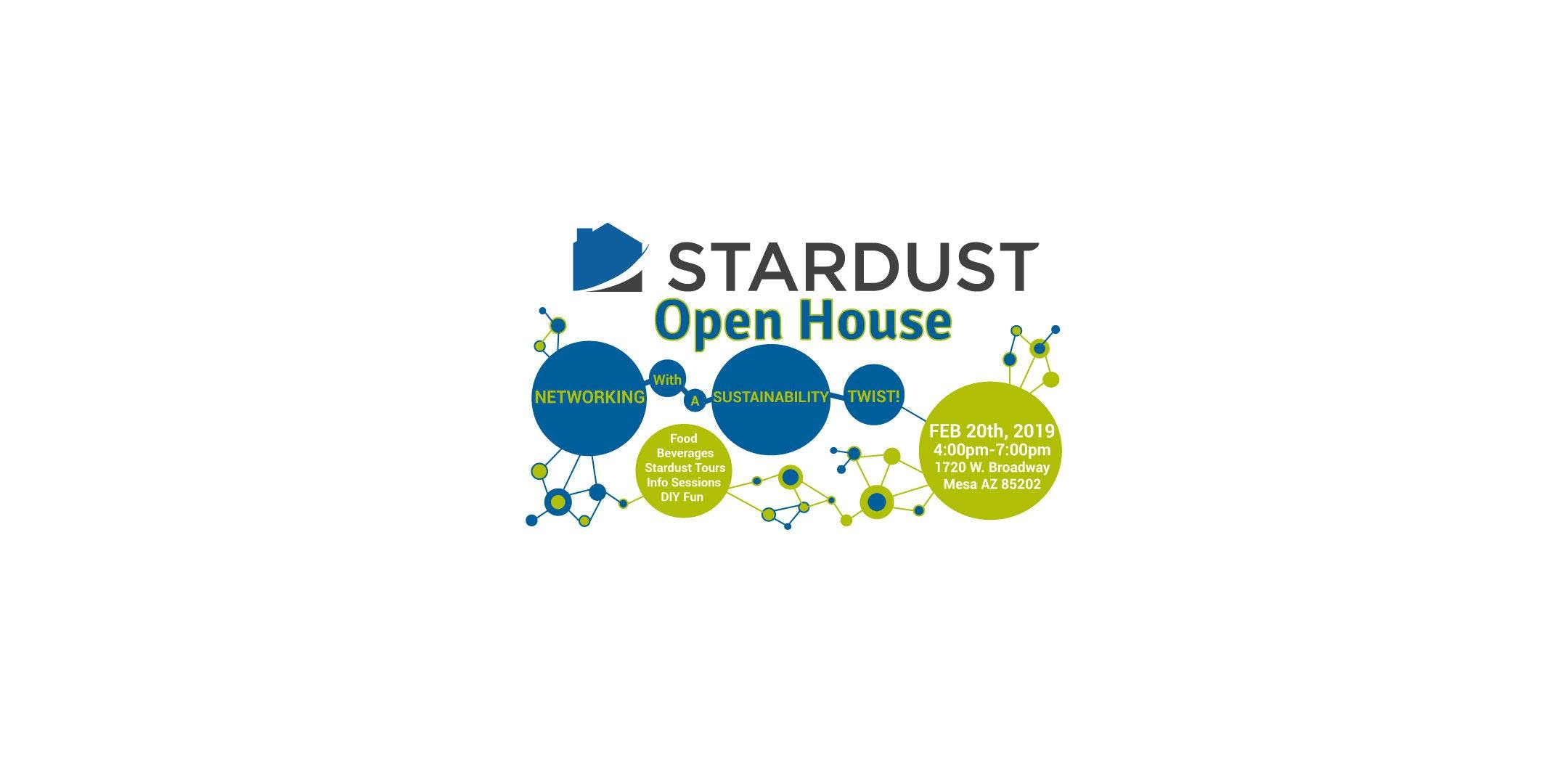 Stardust Open House: Networking with a Sustainability Twist!