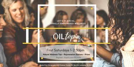 Leesburg ŌILtopia - monthly stations of transformation, renewal and relaxation tickets