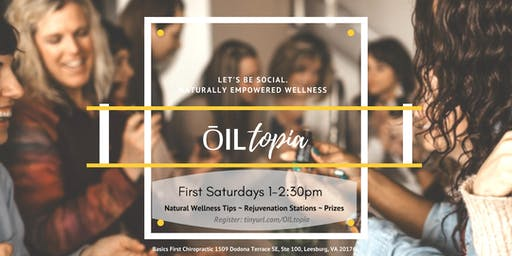 Leesburg ŌILtopia - monthly stations of transformation, renewal and relaxation