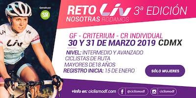 Reto LIV 3a edición - Nosotras Rodamos!