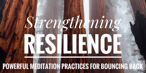 Strengthening Resilience--Powerful Meditation Practices for Bouncing Back