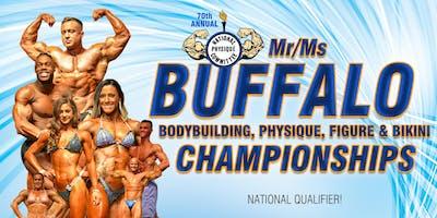 2019 Mr/Ms Buffalo Championships - Pre-Judging - 10AM