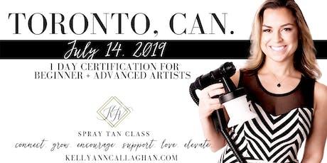 Spray Tan Training | Slay the Spray Sunless Tour Toronto, CAN tickets