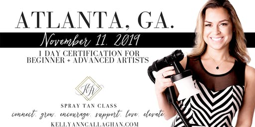 Spray Tan Training | Slay the Spray Sunless Tour Atlanta, GA