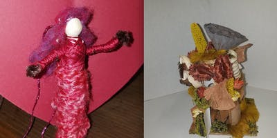 Fairy House Decorating - Free Young Makers Creativity Workshops Series