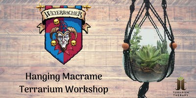 Macrame Terrarium Workshop and Beer Tasting at Weyerbacher Brewing