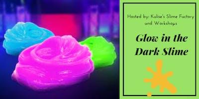 Glow in the Dark Slime Making