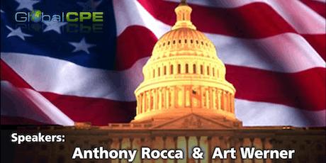 Federal Tax Update |Ft. Lauderdale, Florida | December 2nd & 3rd 2019 tickets