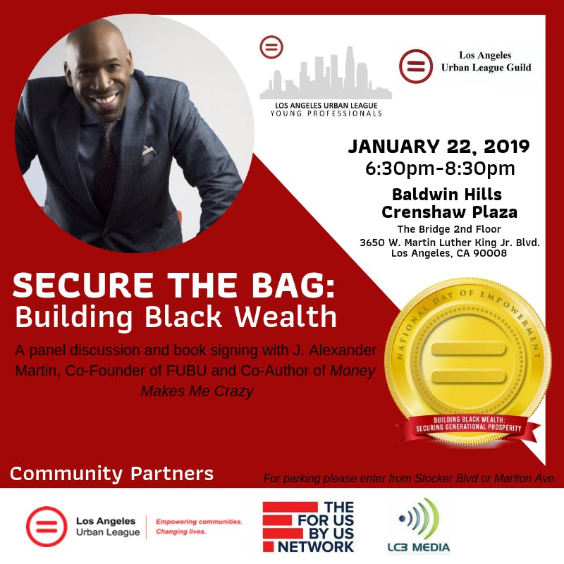 LAULYP - Secure the Bag: Building Black Wealth