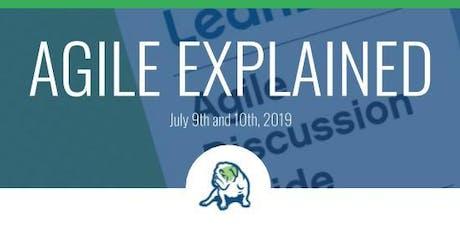 LeanDog Training - July Agile Explained tickets