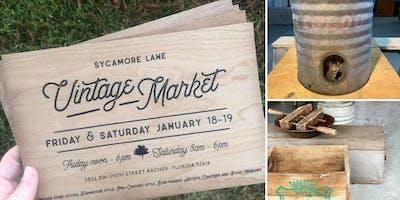 Sycamore Lane Vintage Market (January)