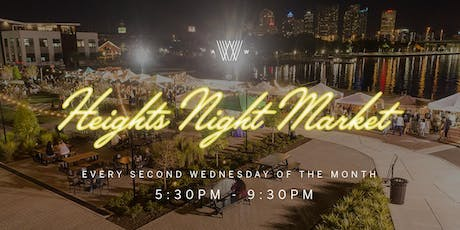 Heights Night Market Vendor Application - 2018/2019 tickets