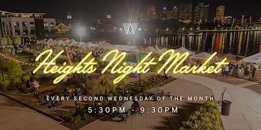 Heights Night Market Vendor Application - 2018/2019