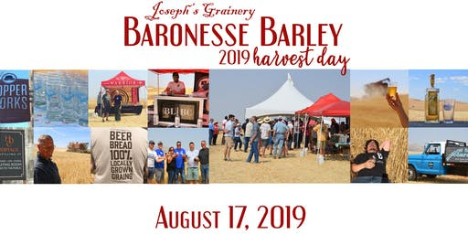 2019 BaronesseBarley Harvest Day