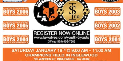 L.A. Wolves Youth Tryouts