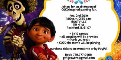 COCO Inspired paint event
