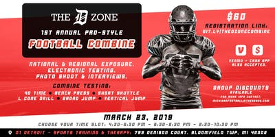The D Zone Football Combine