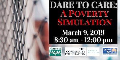 Dare to Care: A Poverty Simulation