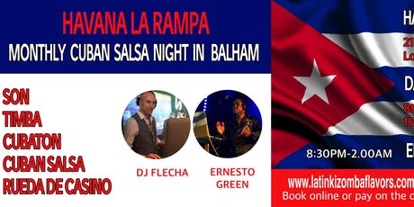 Havana La Rampa Cuban Nights in Balham (March) tickets