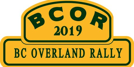 BC Overland Rally 2019 tickets