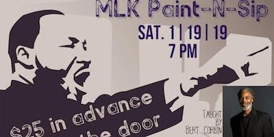 MLK Paint N' Sip with Bert Corbin