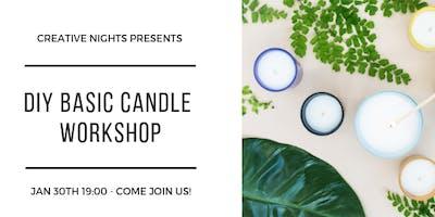 DIY Basic Candle Making Workshop! - by Creative Nights