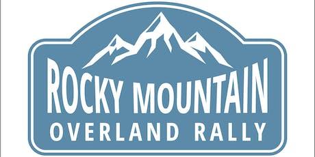 Rocky Mountain Overland Rally 2019 tickets