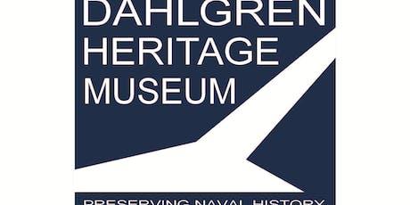 October Dahlgren Heritage Museum Base History Tour tickets