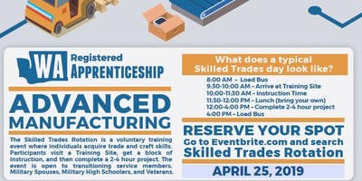Advanced Manufacturing Hands on Experience (Skilled Trades Rotation)