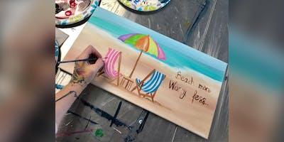 Beach Scene: Bel Air, Greene Turtle with Artist Katie Detrich!